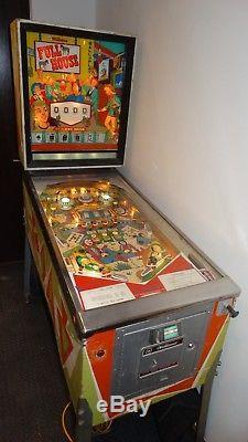 Williams Full House Pinball Machine 1966 Retro Man Cave Arcade