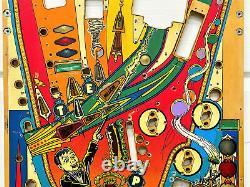 Williams Funhouse Pinball Machine Game Playfield