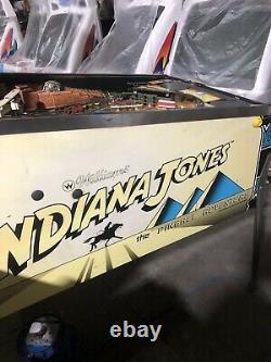 Williams Indiana Jones Pinball Machine 1993 Collectible