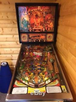 Williams Indiana Jones Pinball Machine Indiana Jones Pinball Adventure