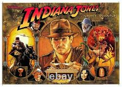 Williams Indiana Jones Pinball Machine Translite