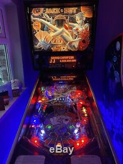 Williams Jackbot Pinball Machine With Keys And Manual Last Of Pinbot Trilogy