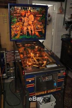 Williams Jungle Lord Pinball Machine 100% Working
