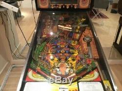 Williams Manufactured Indiana Jones Pinball Machine