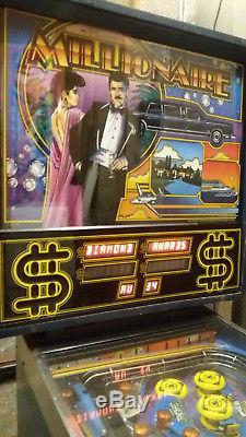 Williams Millionaire Pinball machine retro arcade game