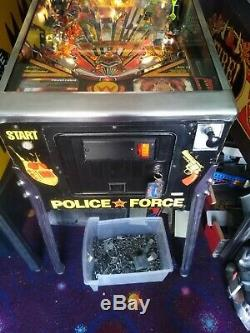Williams Police Force Pinball