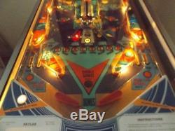Williams SKYLAB arcade pinball 1974 super rare machine space themed EM