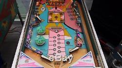 Williams Sega S. A. Baby Doll Electro Mechanical Pinball 1975