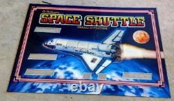 Williams Space Shuttle Pinball Machine Next Gen Translite backglass