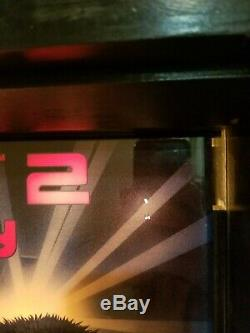 Williams TERMINATOR 2 pinball machine Translite ORIGINAL! NOT A REPRO! T2