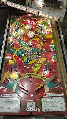 Williams TRI-ZONE pinball a project machine in 95% working order 1979 rare