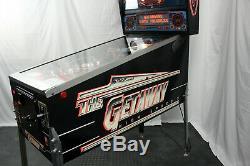 Williams The Getaway High Speed II Pinball Machine Full LED Video in Listing