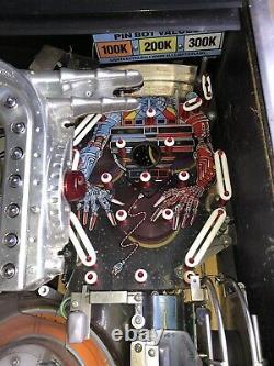 Williams The Machine Bride Of Pinbot Pinball Machine