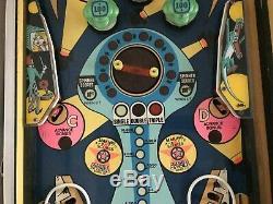 Williams Triple Action Pinball Machine 1974