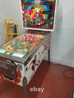 Williams world cup1978 pinball machine