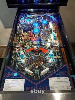 XENON Pinball Machine Playfield Overlay UV PRINTED Clear Inserts