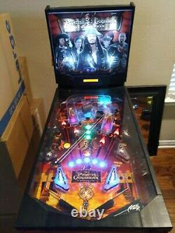 ZIZZLE Pirates of the Caribbean At World's End Pinball Machine