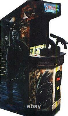 ZOMBIE RAID ARCADE MACHINE by AMERICAN SAMMY 1995 (Excellent Condition)
