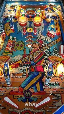 Zacarria Ski jump Pinball Machine circa 1975