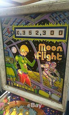 Zaccaria Moon Flight Pinball Circa 1976