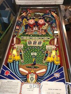 Zaccaria Queens Castle Electro Mechanical Pinball Machine vintage
