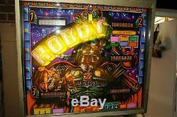 Zaccaria Robot Pinball Machine 100% Working