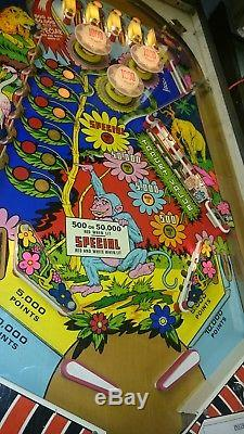 Zaccaria Wood's Queen Pinball Circa 1976