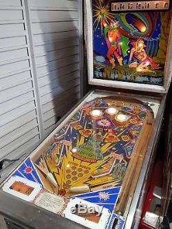 Zaccaria ten stars vintage pinball machine 1976